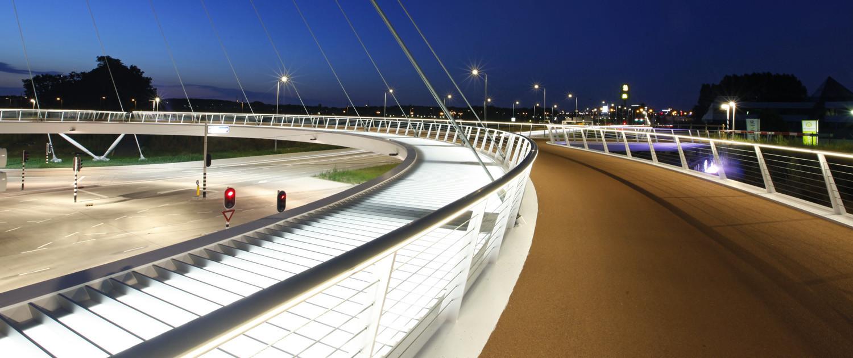 fietsbrug geïntegreerd ontwerp voorbereiding Hovenring