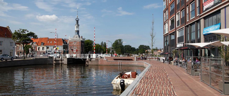 passantenhaven Schelphoek Alkmaar aanlegsteiger antracietkleurige accenten