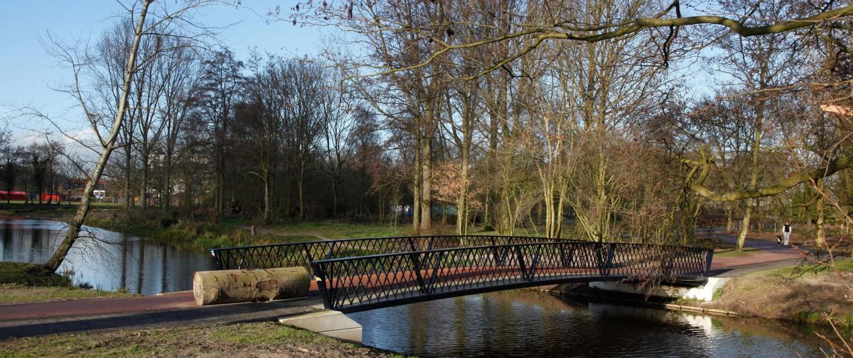 bruggen park Randenbroek Amersfoort parkachtige bruggen