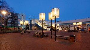 stoer robuust en sfeervol armatuur voor openbare ruimten, Capelle aan de IJssel