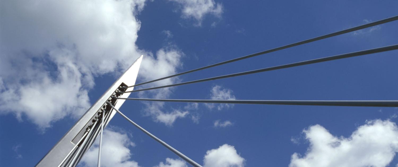 pyloonbrug Delftlanden Emmen stalen spankabels