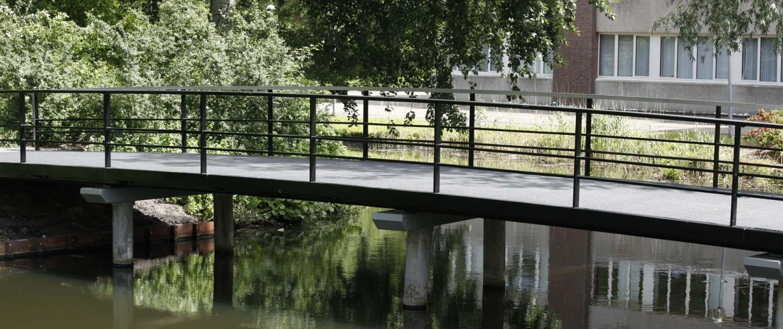 op maat gemaakt eenvoudig duurzaam bruggensysteem Gouda