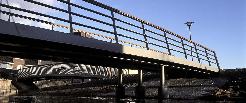 brug Floriande Haarlemmermeer, onderaanzicht van brugontwerp door ipv