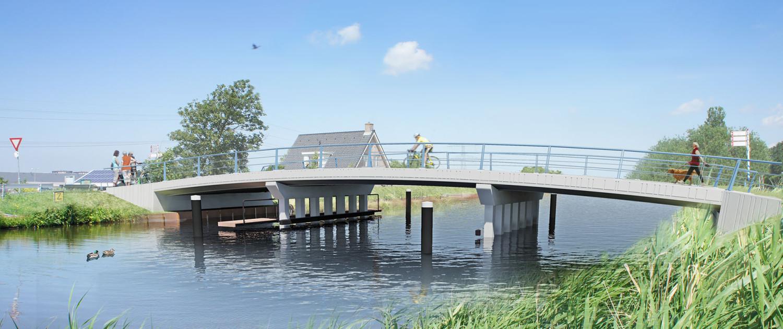 Zwethbrug Westland Makkelijk te onderhouden en passend bij het landschap