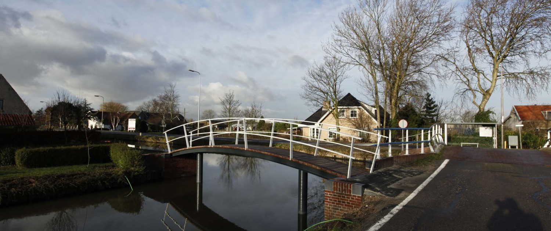 voetbrug Middelwatering Midden-Delfland verzorgd en stijlvol