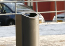 gebruiksvriendelijke afvalbakken Rotterdam met Rotterdamse uitstraling in stad
