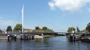 fietsbrug Rijn-Schiekanaal Rijswijk