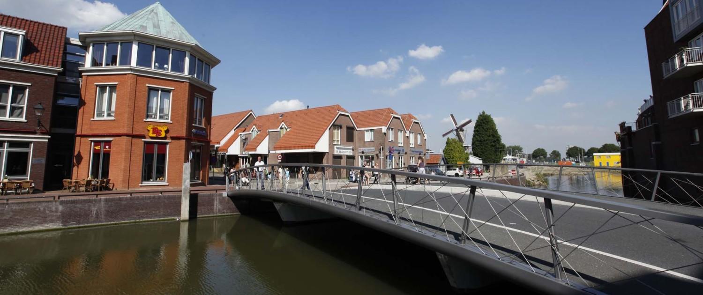 verkeersbrug Noordkade Spijkenisse aansluitend ontwerp