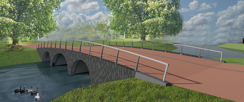 boogbrug Nieuwe Marnixstraat Leiden betaalbare repeterende prefab betonelementen