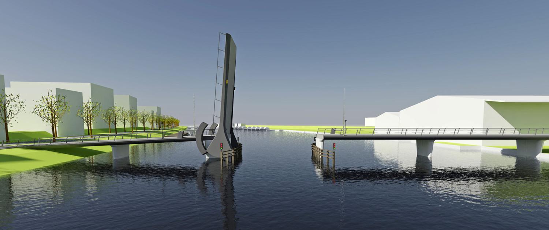 verbindingsbrug Kadoelenbrug Amsterdam geopend