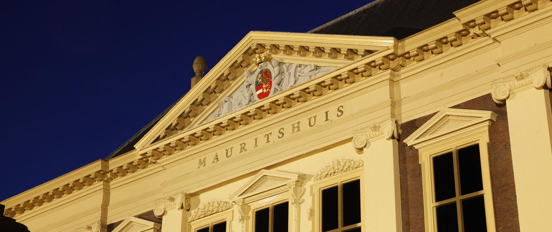 aanlichting gevel Mauritshuis lichtontwerp ism met Hans Wolff