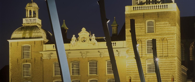 lichtarchitectuur belichting Grote Markt Goes vandalismebestendigheid