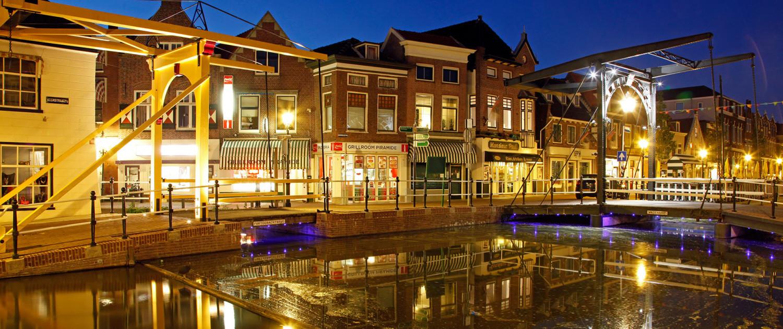 aanlichting monumentale panden centrum Maassluis