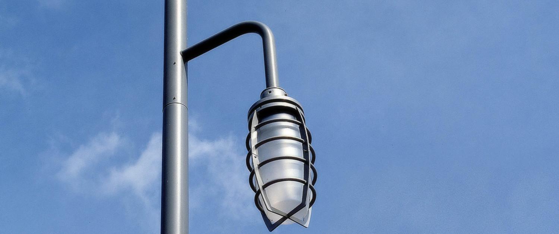 Almere Haven straatmeubilair verllichtingarmatuur traditionele stormlamp