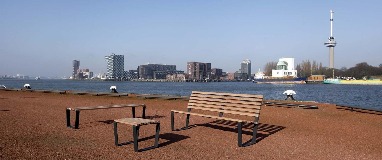 meubilair voor SROI meubilairlijn van Ferro-Fix ontwerp ipv Delft