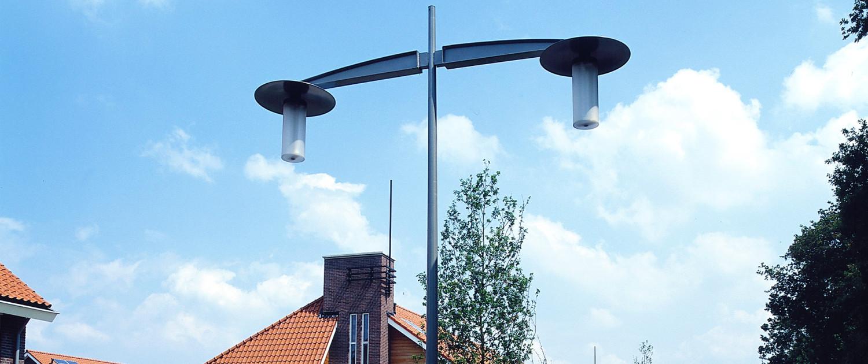buitenstijl Ede Kernhem Odion openbare verlichting vriendelijk stijlvol duurzaam sober ontwerp eenvoudige vormtaal