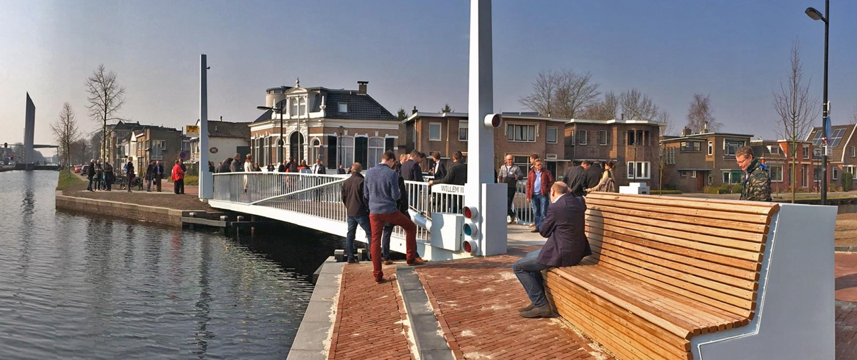 fietsbrug, beweegbaar brugontwerp Assen, door ipv Delft