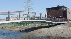 Het Jeurlink Deventer zorgvuldig vormgegeven bruggen ecologische zone