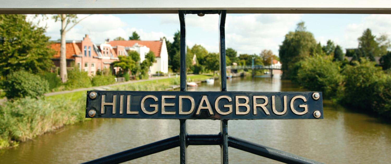 Hilgedagbrug Appingedam figuratief hekwerk