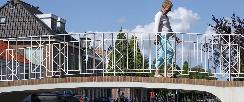 gerenoveerd brugdek UHSB, restauratie monumentale brug, Langetaambrug Zwolle