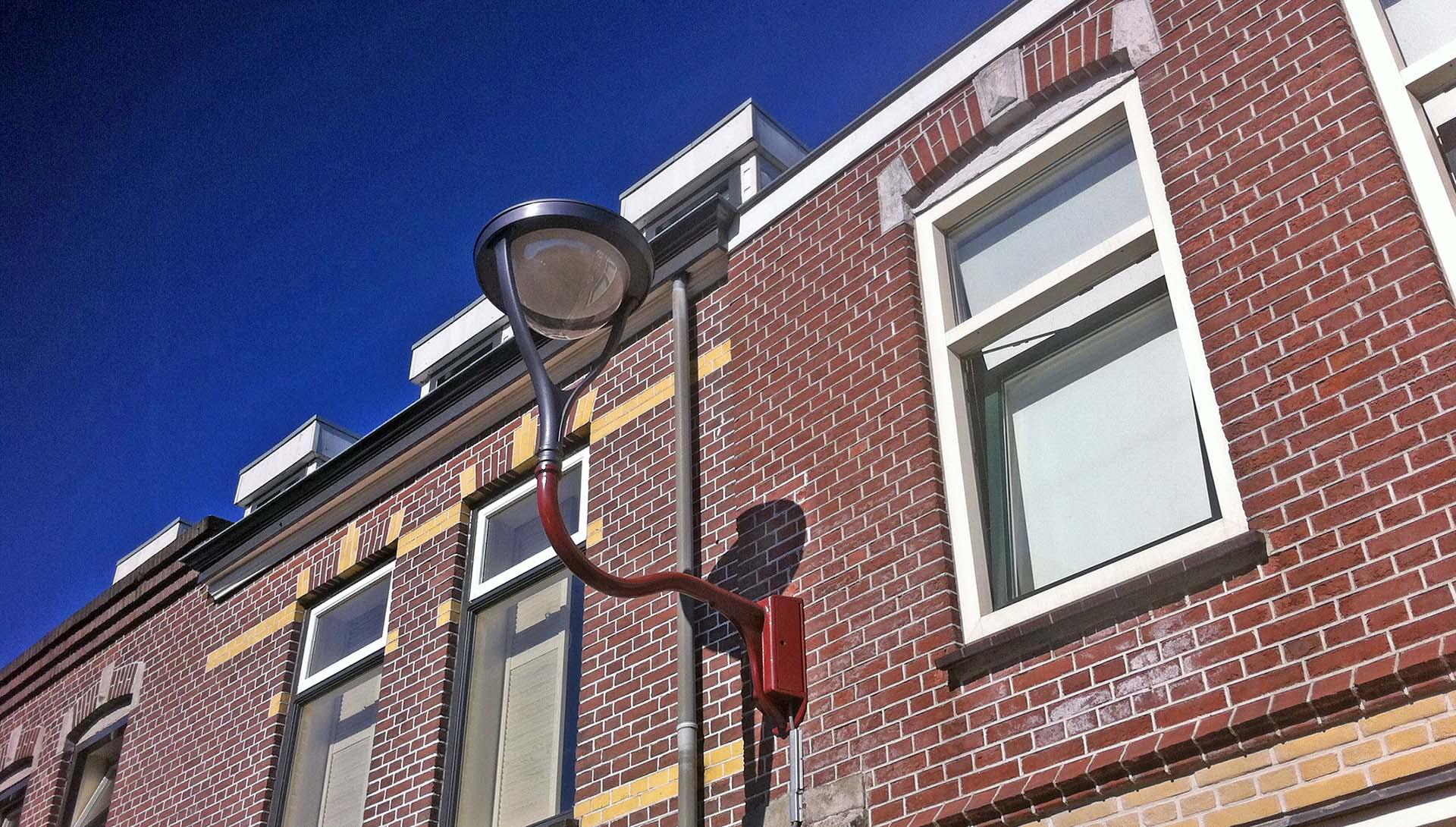 Ymago wandarmatuur, lichtontwerp, straatverlichting spoorbuurt Alkmaar