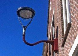 wandarmatuur Ymago, verlichtingsontwerp Alkmaar spoorbuurt straatverlichting