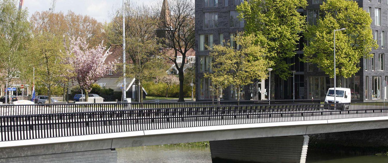 verkeersbrug Heysehaven Rotterdam, brugontwerp ipv Delft