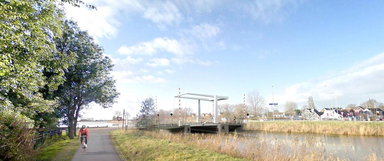 Hollandse brug standaard beweegbare brug slim en betaalbaar