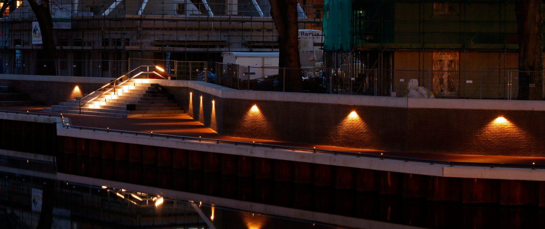 lichtvisie Dalfsen aan kade, lichtontwerp door ipv Delft