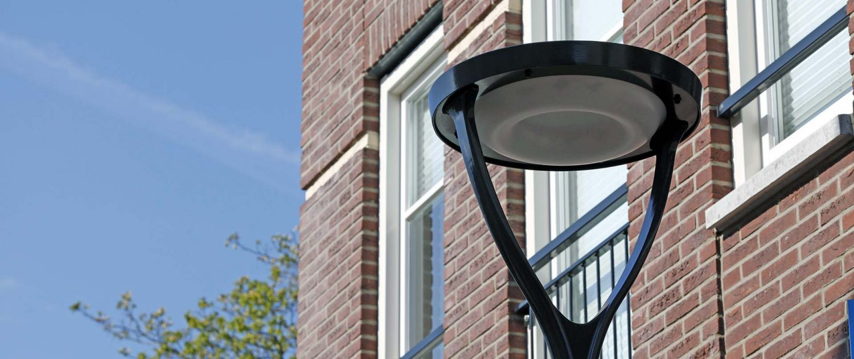 detail van lichtarmatuur lichtvisie Dalfsen, ontwerp door ipv Delft