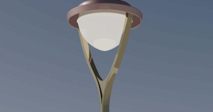 modern mastarmatuur, lichtontwerp, ontwerp door ipv Delft