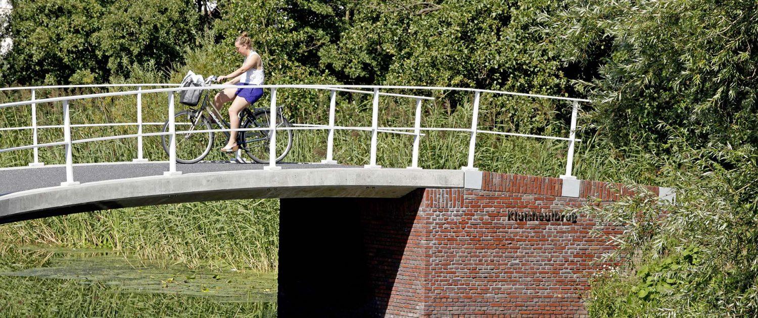 gerenoveerde Kluisheulbrug Maasland, ontwerp van vernieuwde brug door ipv Delft