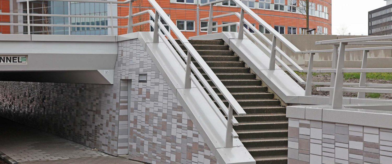 Keramiek Verbeektunnel Plesmanlaan Bio Science Park Leiden