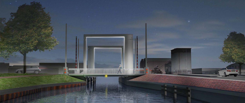 stadsbrug brugverlichting toegangsbrug engineering