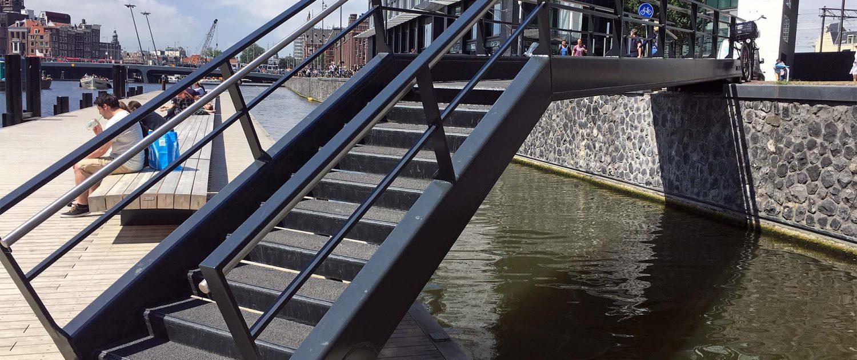 close up wandelsteiger amsterdam