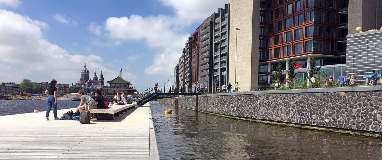 wandelsteiger Oosterdok Amsterdam, ontwerp ipvDelft