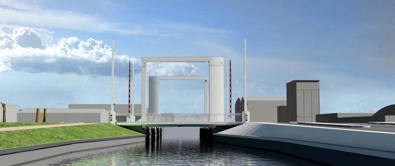 aanbiedingsontwerp brugontwikkeling ingenieurs stalen brug verkeersbrug