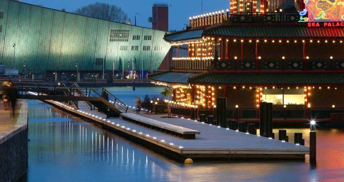 solar attentieverlichting in Amsterdam