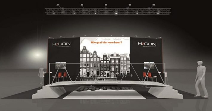 Beurs stand ipvDelft HiCon Infratech