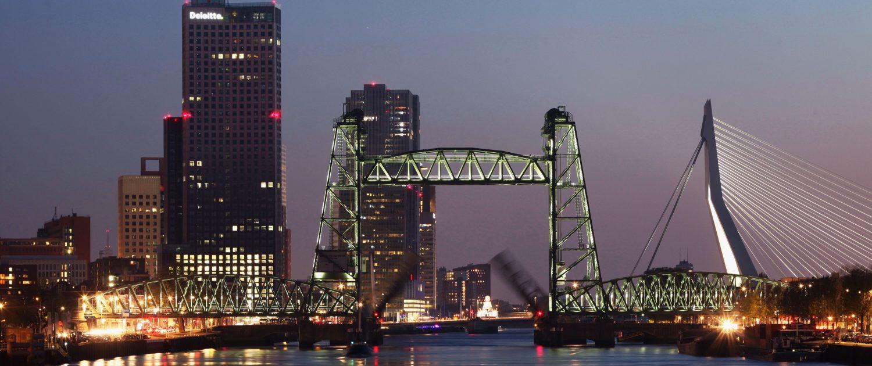 Verlichting Spoorbrug De Hef Rotterdam ipvDelft