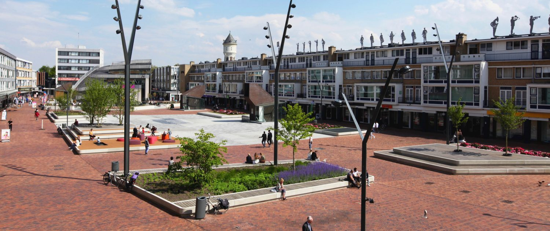 plein ontwerp nieuwe Markt Roosendaal