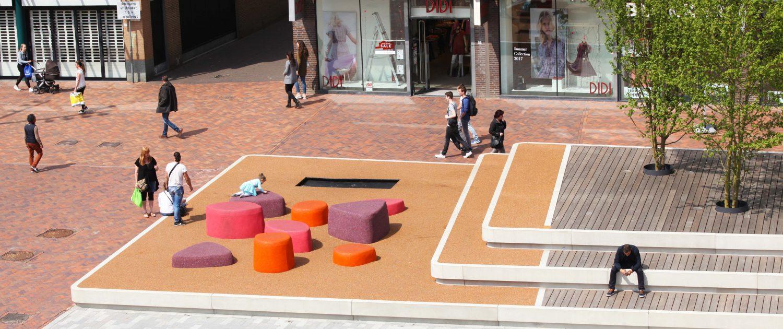Nieuwe Markt Roosendaal ontwerp ipv Delft