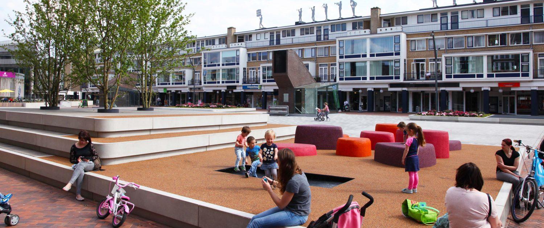 Speelelementen Nieuwe markt Roosendaal