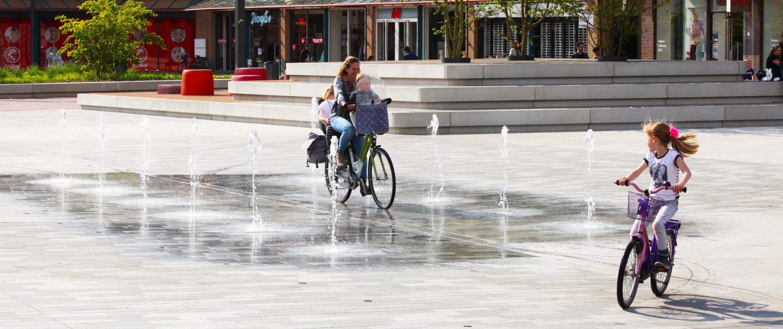 waterplein marktplein Nieuwe Markt