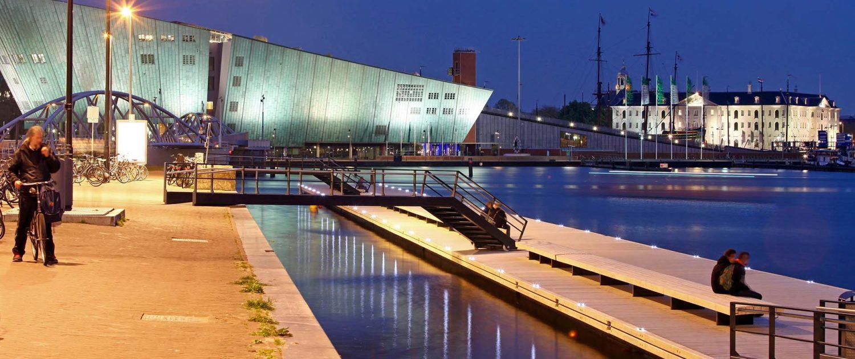 Oosterdok steiger ontwerp bruggen engineering