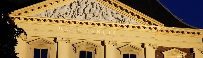 verlichting monument Mauritshuis Den Haag, lichtarchitectuur ipv Delft