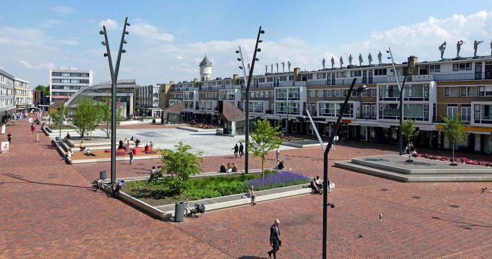 Nieuwe markt Roosendaal openbare ruimte ontwerp ipv Delft