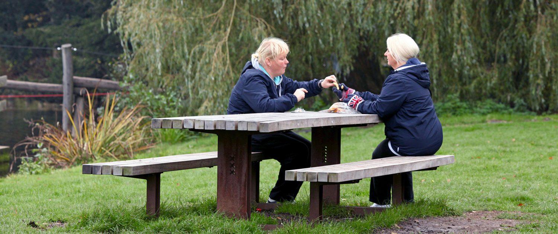 picknicktafel Amsterdamse Bos