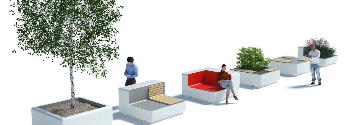 openbaar meubilair ontwerp
