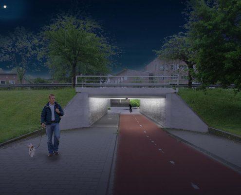 slimme tunnelverlichting voor sociaal veilige tunnels